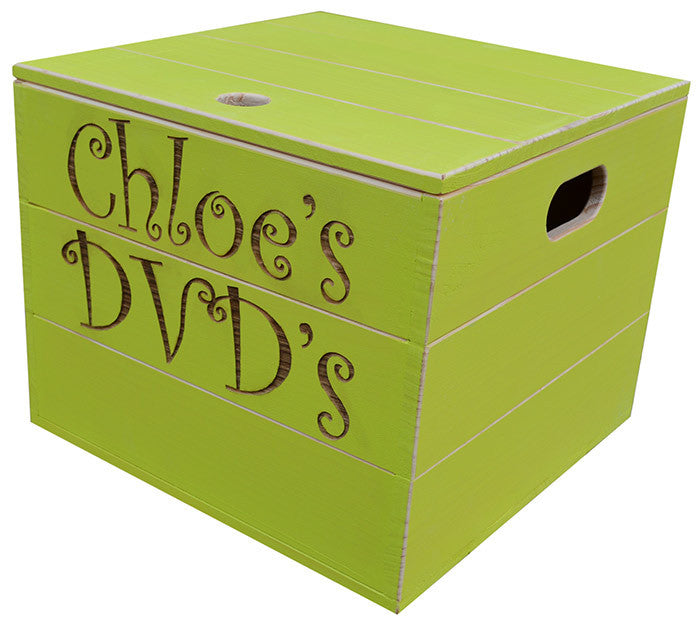 Lime Green Storage Cube
