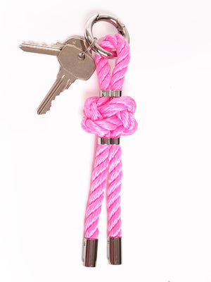 LOVERS KNOT CHARMS *BLACK* RED* PINK