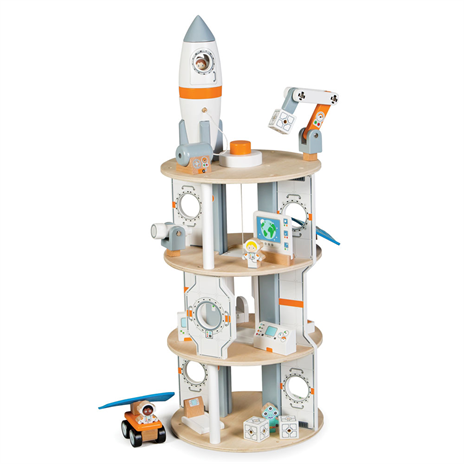 Big Jigs Wooden Space Station
