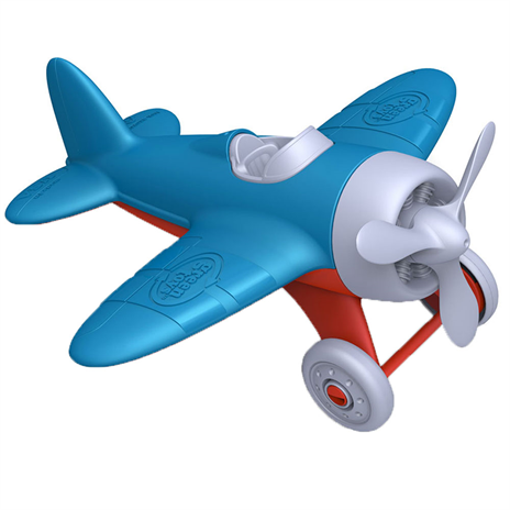 BigJigs - Green Toys - Blue Airplane