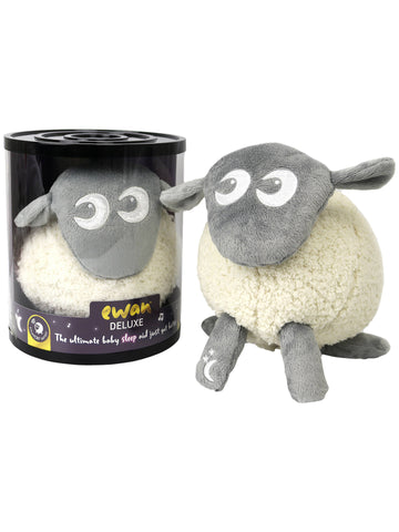 Ewan Deluxe - Baby Shushing Sleep Sheep - Grey