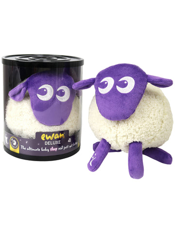 Ewan Deluxe - Baby Shushing Sleep Sheep - Purple