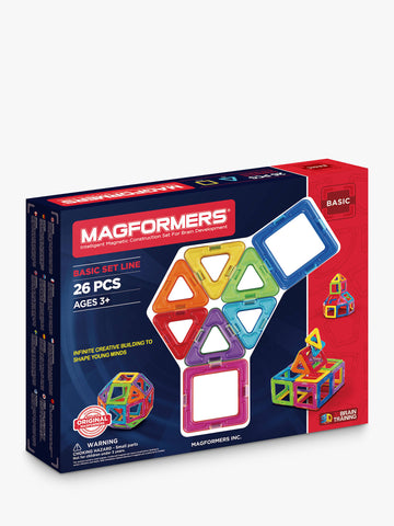Magformers - Basic Set 26 Pieces