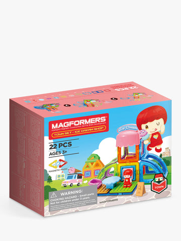 Magformers - Town Series - Ice Cream Shop