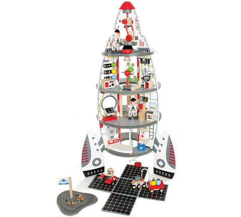 Hape Discovery Spaceship and Lift Off Rocket