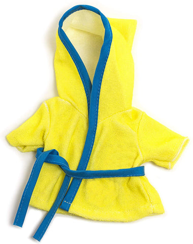 Miniland - Bathrobe - Yellow 38cm