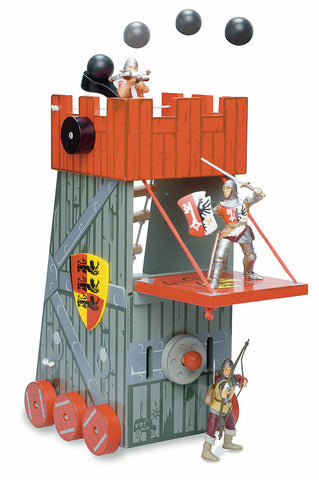 Le Toy Van Siege Tower Red