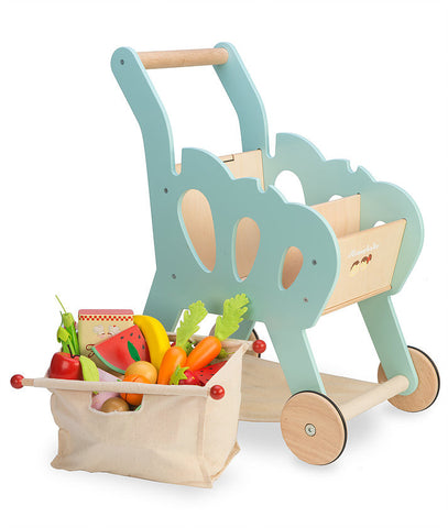 Le Toy Van  Honeybake Shopping Trolly Playset
