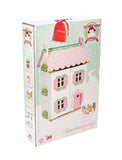Le Toy Van Sweetheart Cottage Dolls House (Furniture Included)