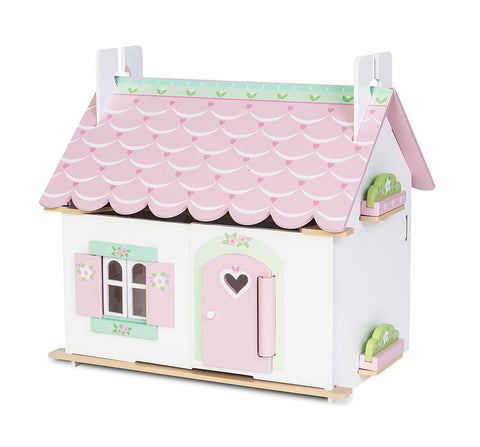 Le Toy Van Lily's Cottage Dolls House (Furniture Included)