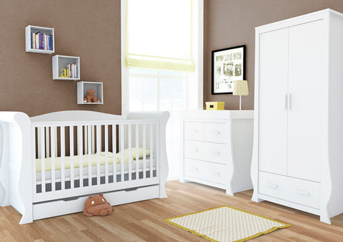 Babystyle Hollie Furniture Set in Fresh White