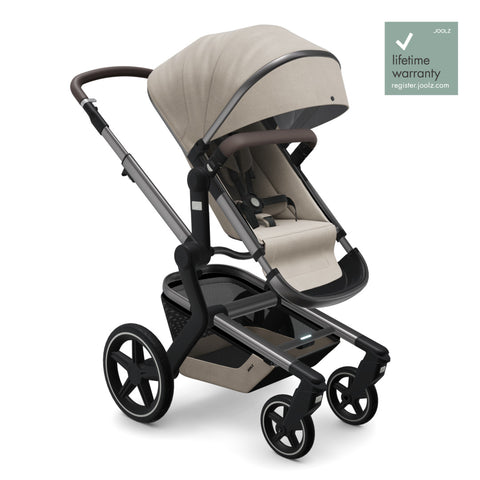 Joolz Day + Pushchair and Carrycot - Timeless Taupe