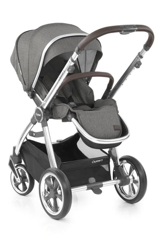 Oyster 3 Pushchair and Carrycot Mirror Chassis - Mercury £668