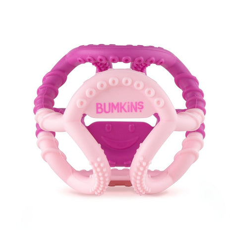 Bumkins Silicone Sensory Teething Ball