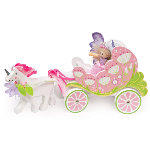 Le Toy Van - Fairy Carraige with Fairy and Unicorn