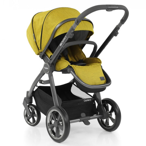 Oyster 3 Pushchair and Carrycot  -  Mustard - £668.00