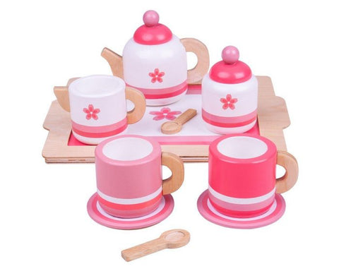 BigJigs - Pink Tea Tray