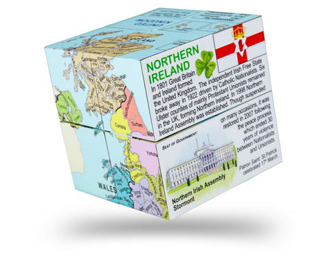 BigJigs - United Kingdom Cube Book