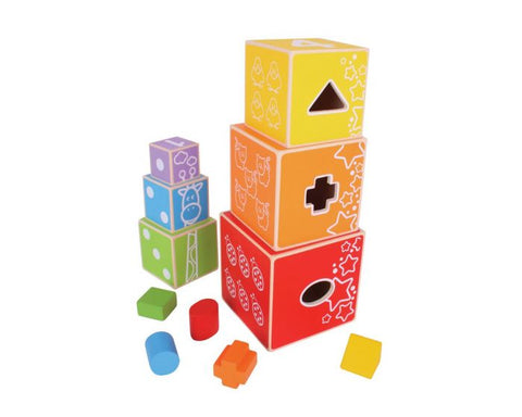 BigJigs - Stacking Cubes
