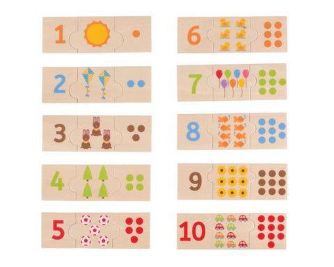 BigJigs - Number Tiles