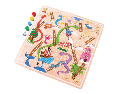 BigJigs - Snakes and Ladders
