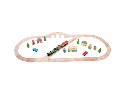 BigJigs - Flying Scotsman Train Set