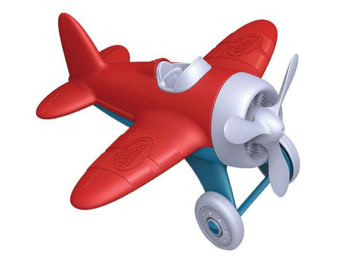 BigJigs - Green Toys - Airplane Red Wing