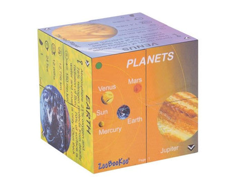 BigJigs - Planets Cube Book