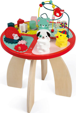 Janod- Baby Forest Activity Table