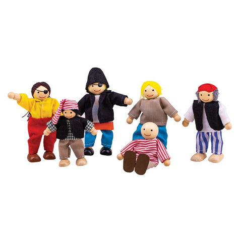BigJigs - Pirate Doll Set