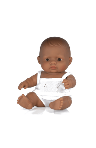 Miniland Baby Doll - Hispanic Girl 21cm
