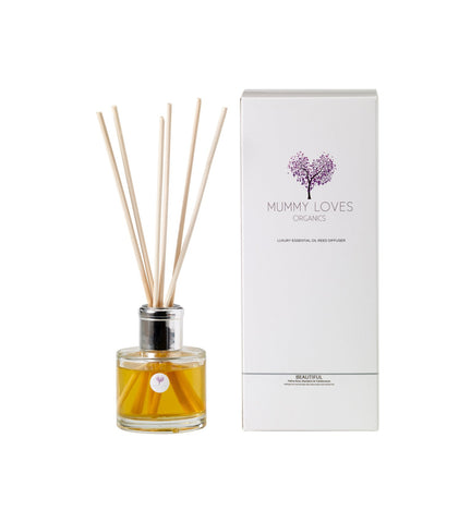 Mummy Loves Organics - Reed Diffuser - Beautiful - Stress Relieving