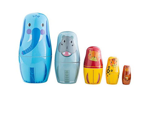 BigJigs - Russian Dolls Jungle Animals