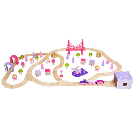 BigJigs- Fairy Town Train Set