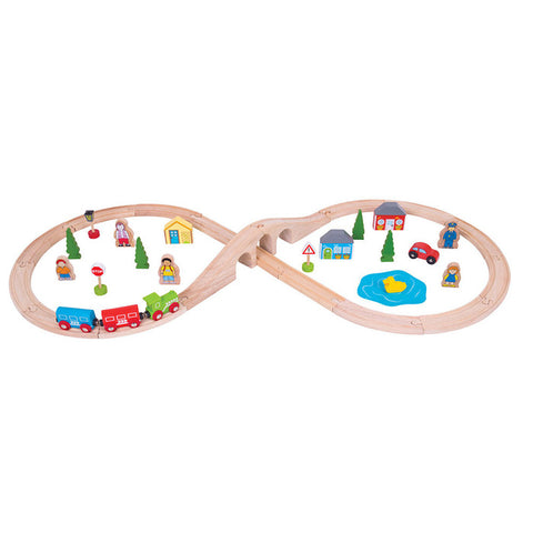 BigJigs- Figure of Eight Train Set