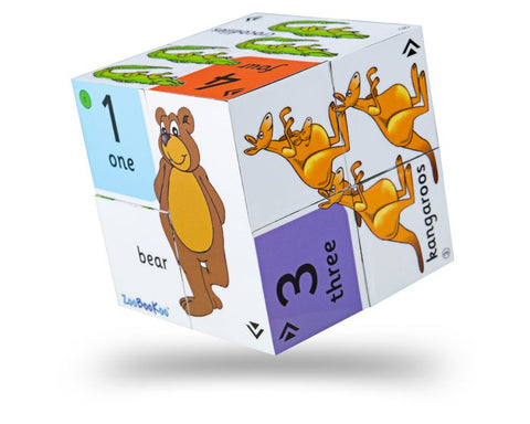 BigJigs - Numbers Find the Odd One Out Cube Book