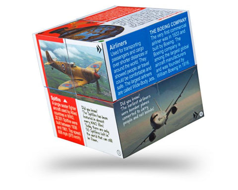 BigJigs - Innovation in Aviation Cube Book