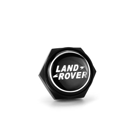 Land Rover Black License Plate Bolts - MyValveCaps