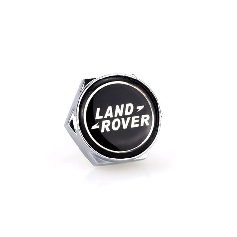 Land Rover Silver License Plate Bolts - MyValveCaps