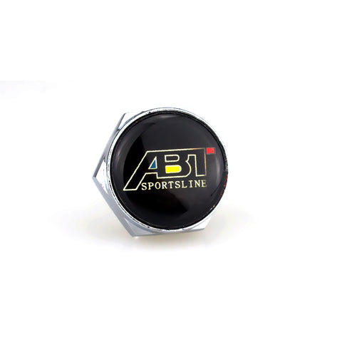 ABT Black License Plate Bolts - MyValveCaps