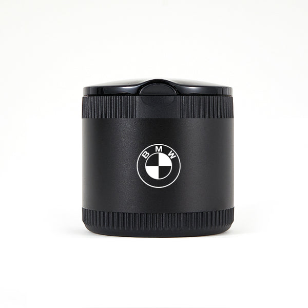 BMW Black Laser Engraved Portable Led Ashtray ( Small )