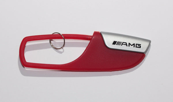 High Quality AMG Racing Red Keychain - MyValveCaps