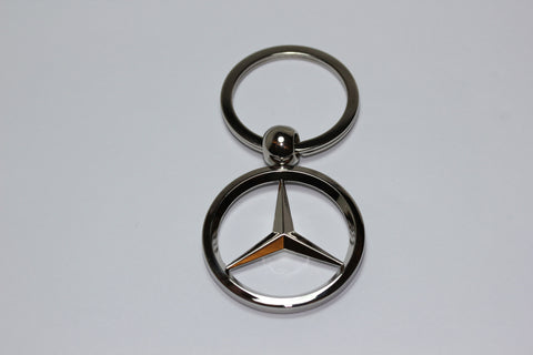 Mercedes Benz Chrome Keychain - MyValveCaps
