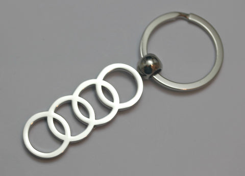 Audi Chrome Keychain