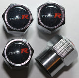 Type R Tire Valve Stem Caps