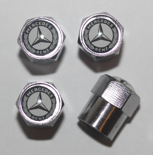 Mercedes Benz Tire Valve Stem Caps