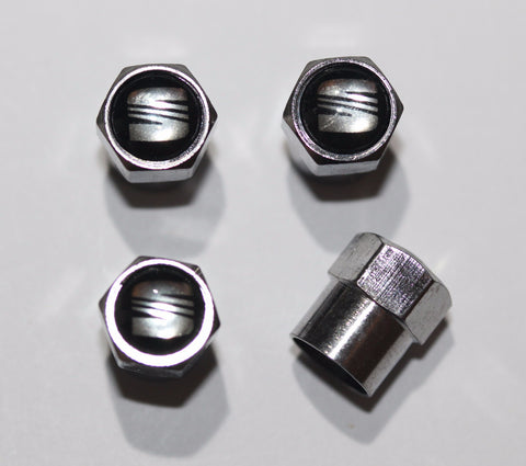 Seat Black Tire Valve Caps - MyValveCaps