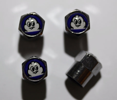 Michelin Blue Tire Valve Caps - MyValveCaps