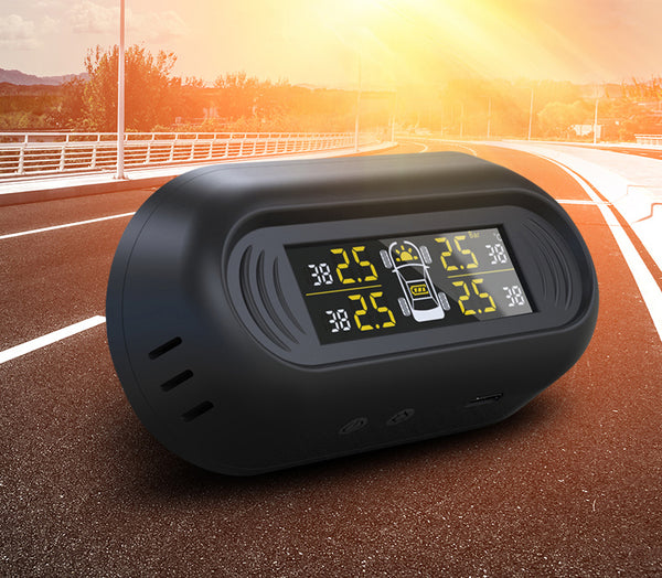 Wireless Tire Pressure Monitoring System With Solar Power - MyValveCaps