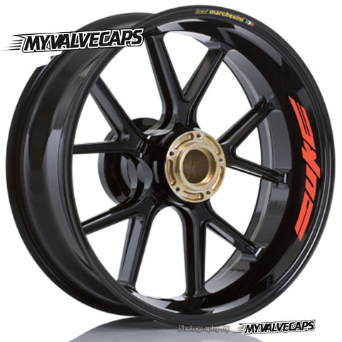 Wheel Rim Stickers for KTM Duke - MyValveCaps